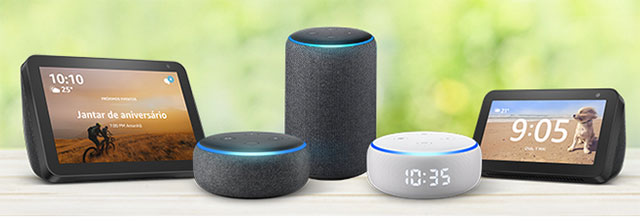 dispositivos Echo Alexa
